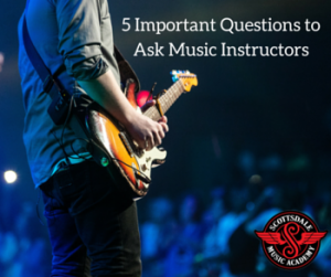Questions for Music Instructors