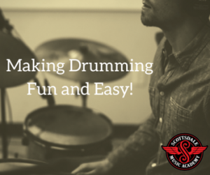 Drum lessons easy and fun