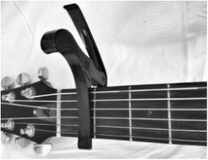 capo on guitar