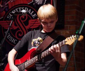 SMA Guitar Student