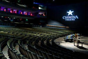 comerica theater music venue