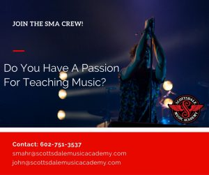 Music Instructor positions Scottsdale