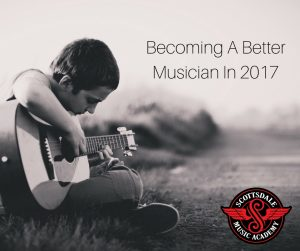 become a better musician in 2017